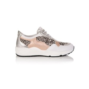 Cosmic Trainers - Rose Gold & Dotty Print