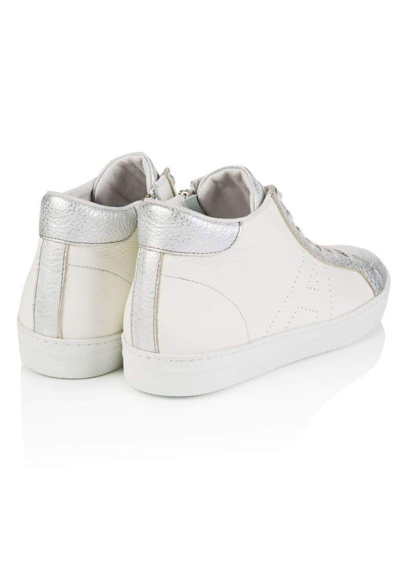 AIR & GRACE Signature Alto Trainers - White & Silver main image