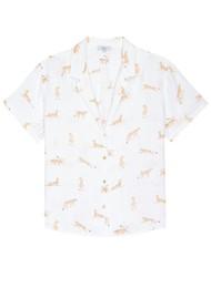 Rails Zuma Short Sleeve Shirt - Jungle Cat