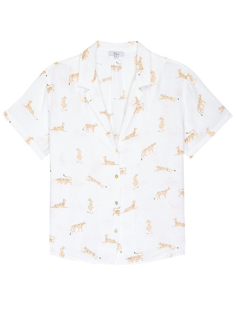 Rails Zuma Short Sleeve Shirt - Jungle Cat  main image