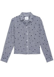 Rails Audrey Shirt - Navy Gingham & Spots