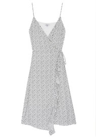 Rails Iris Wrap Dress - Spots