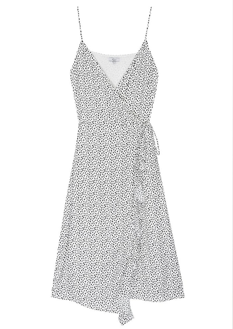 Iris Wrap Dress - Spots main image
