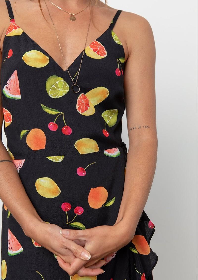 Rails Iris Wrap Dress - Fruit Tropic main image