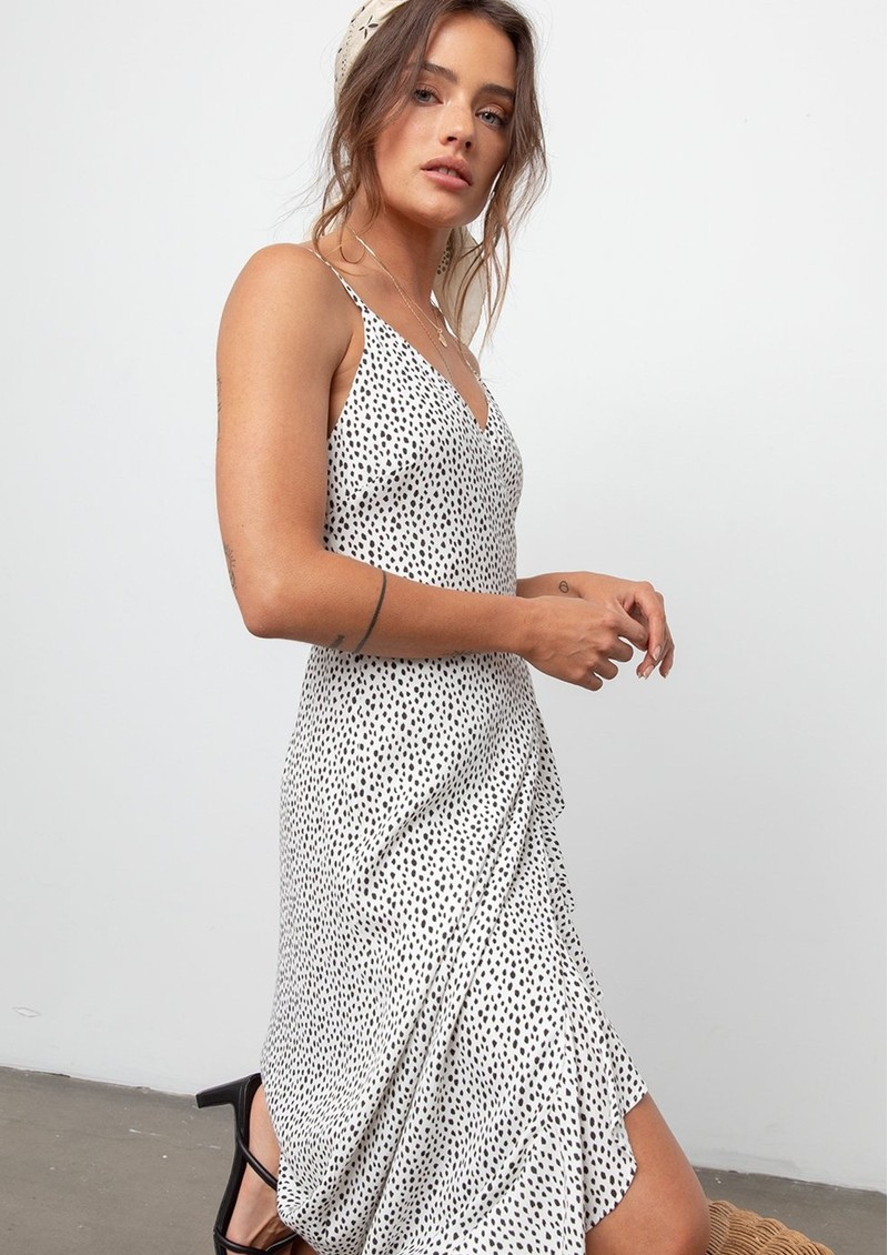 Rails Iris Wrap Dress - Spots main image
