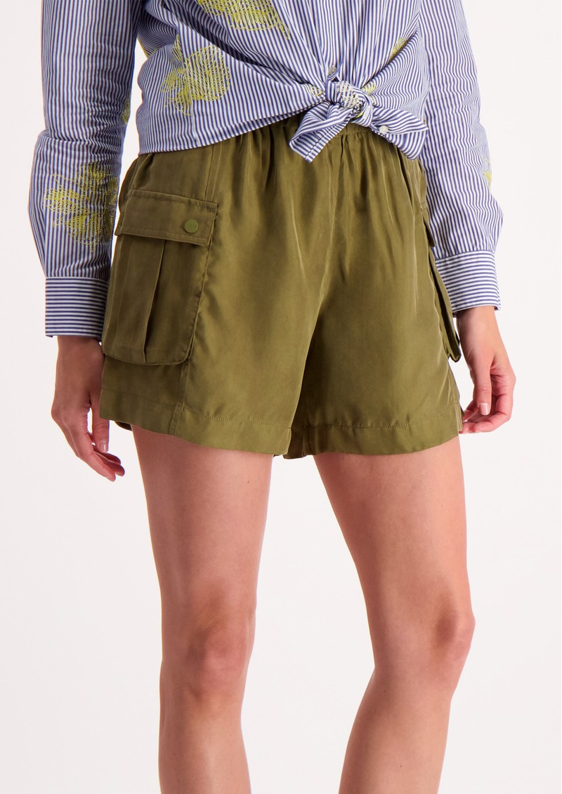 Relaxed Cargo Shorts - Military main image