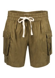 Maison Scotch Relaxed Cargo Shorts - Military