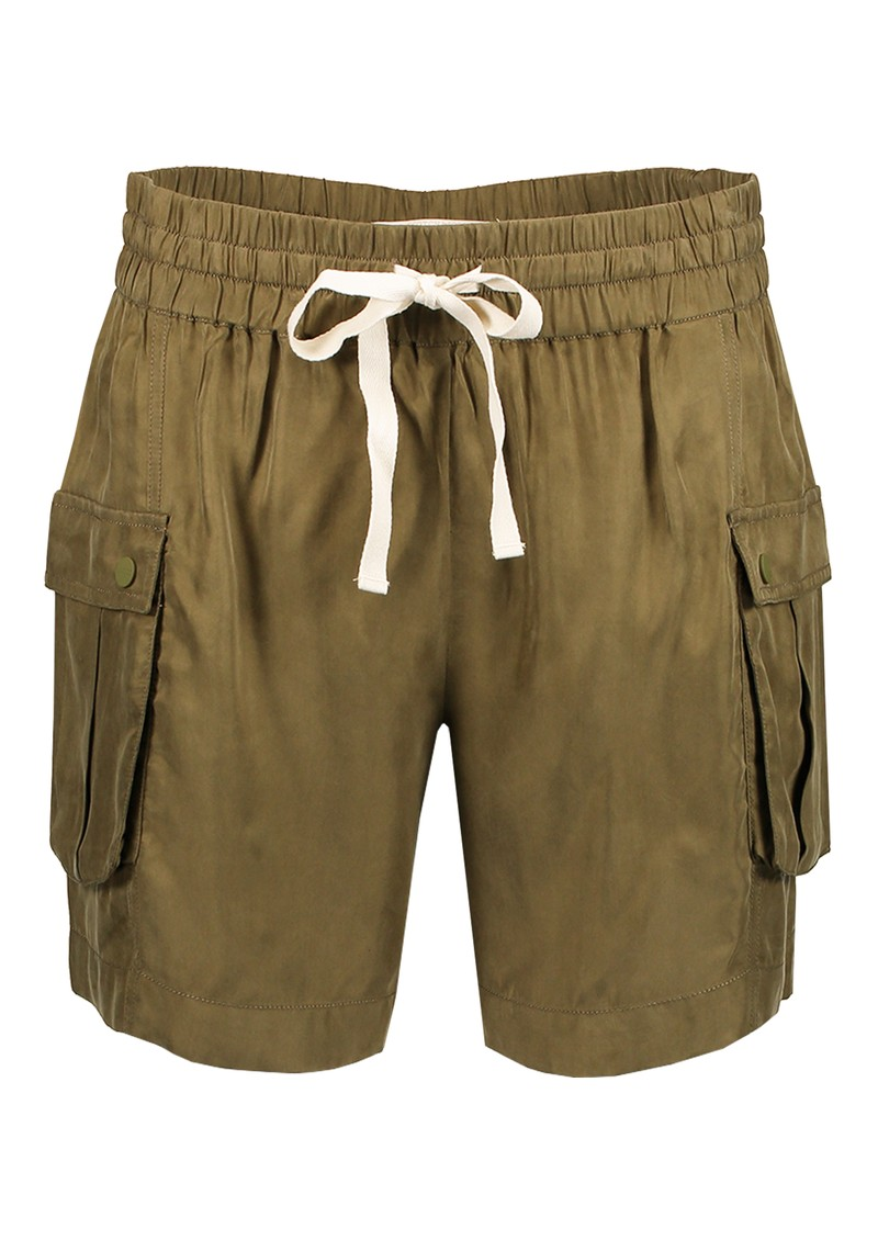 Maison Scotch Relaxed Cargo Shorts - Military main image