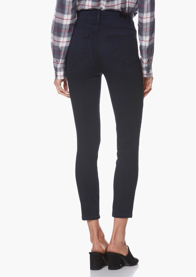 Paige Denim Margot Crop Ultra Skinny Jeans - Lana main image