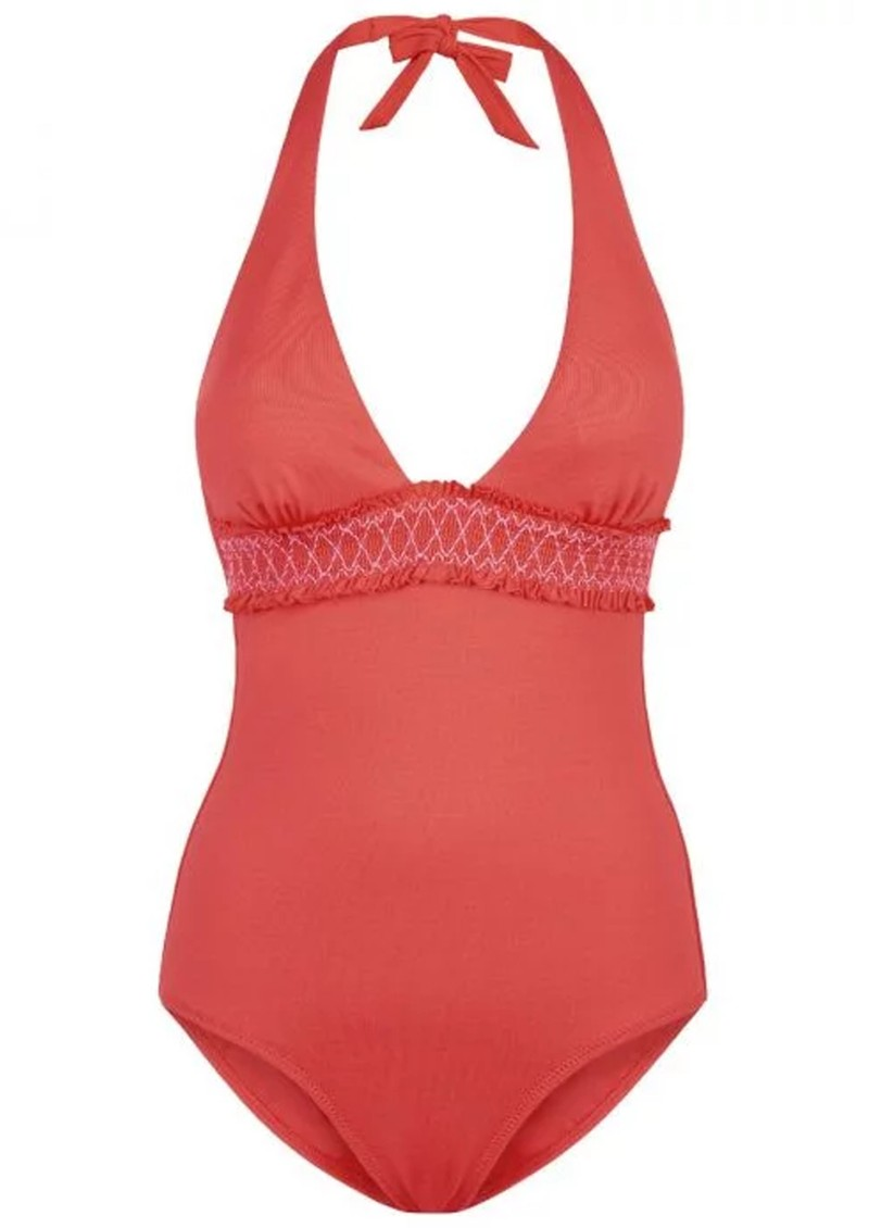 Sofia Smock One Piece - Coral  main image