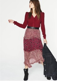 Ba&sh Gapi Skirt - Rose