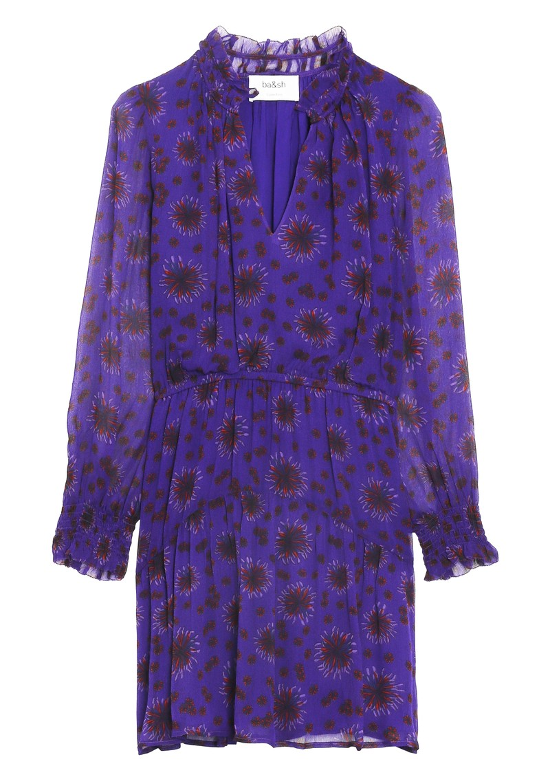 Ba&sh Gizel Dress - Purple main image