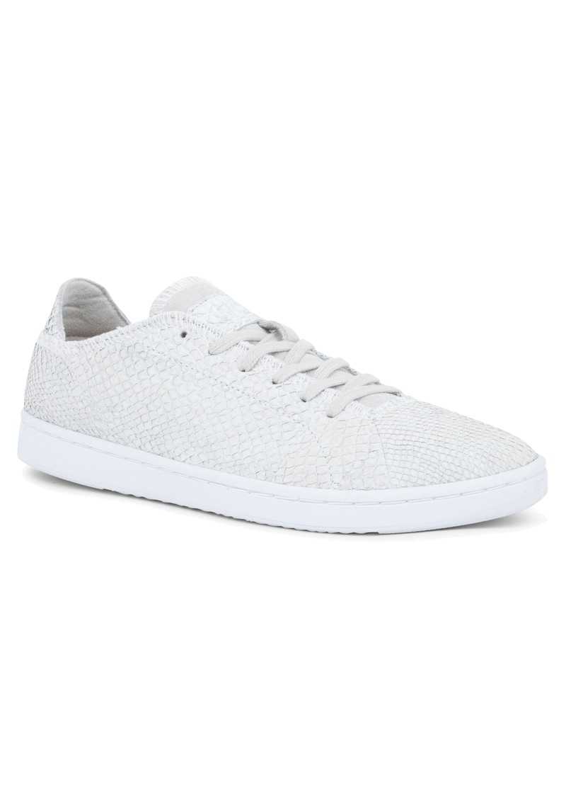 WODEN Jane North Sea Leather Trainers - White main image