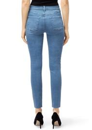 J Brand Leenah Super High Rise Ankle Skinny Jeans - Set Up