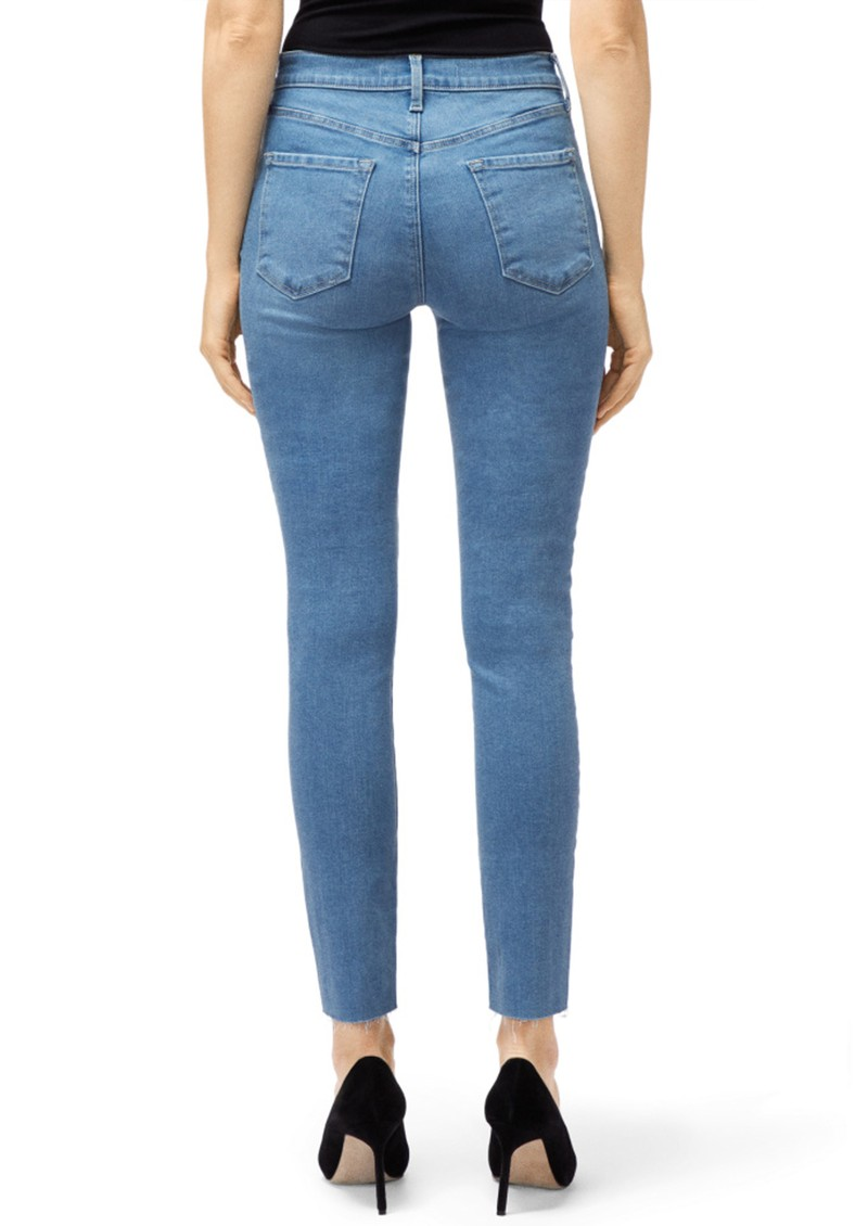 J Brand Leenah Super High Rise Ankle Skinny Jeans - Set Up main image