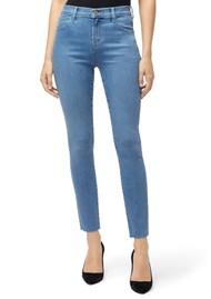 J Brand Leenah Super High Rise Ankle Skinny Jeans - Set Up
