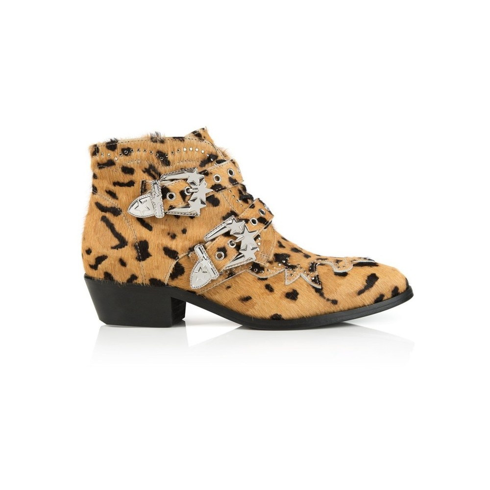 Starlight Ankle Boot - Leopard