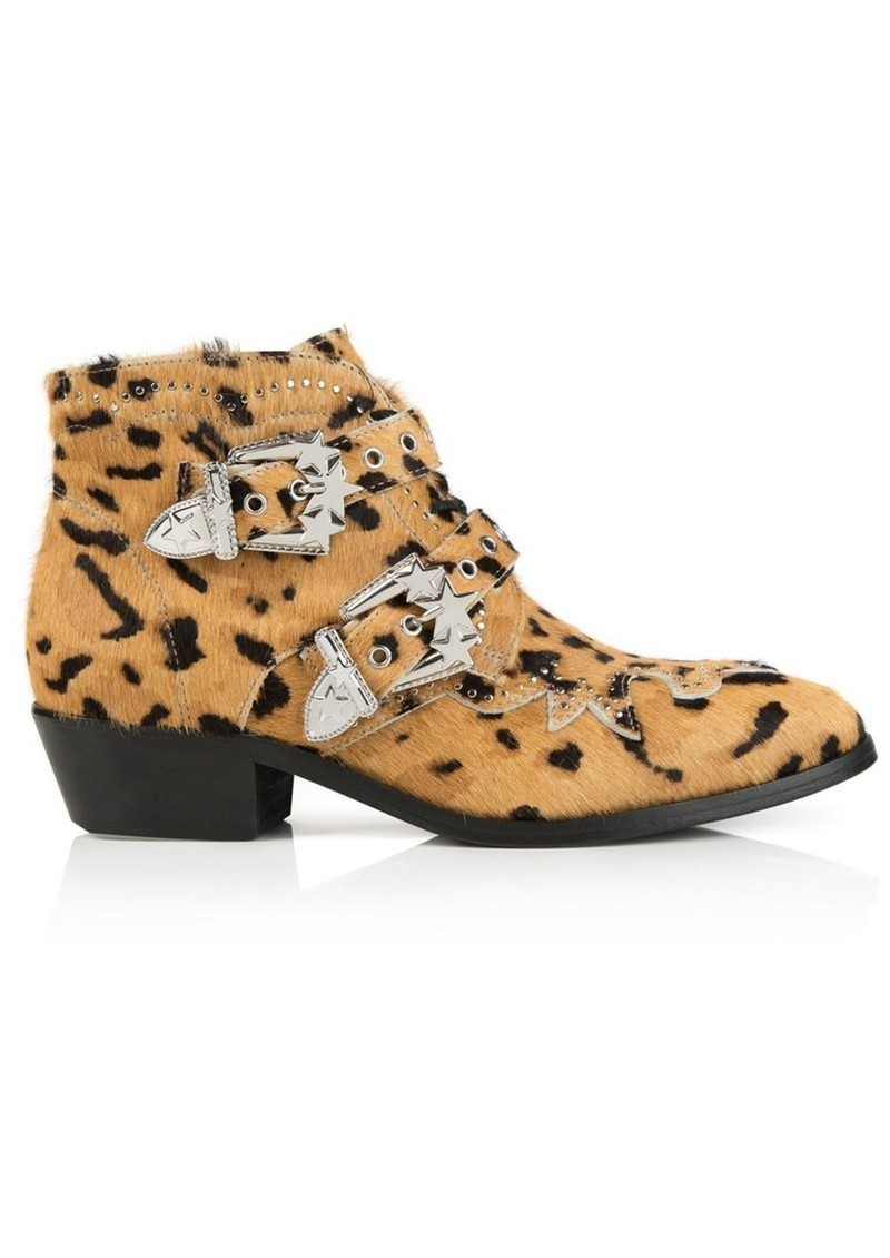 AIR & GRACE Starlight Ankle Boot - Leopard main image