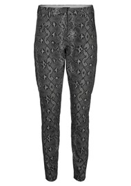 FIVE UNITS Angelie 606 Pants - Dark Grey Snake