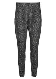 FIVE UNITS Angelie 606 Pants - Dark Grey Snake