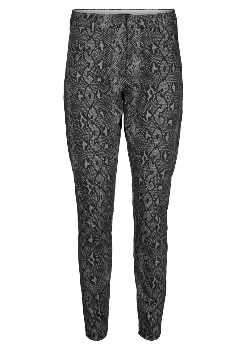 Angelie 606 Pants - Dark Grey Snake main image