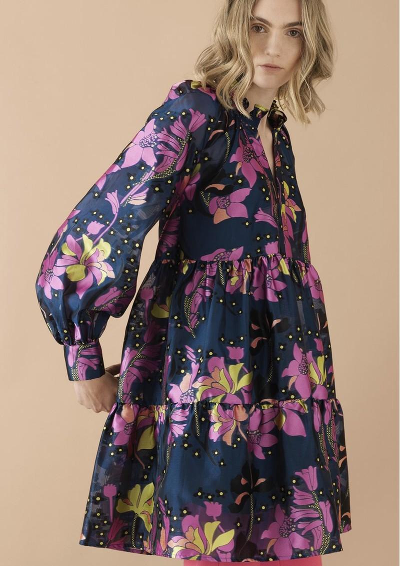 STINE GOYA Jasmine Dress - Daffodil Indigo main image