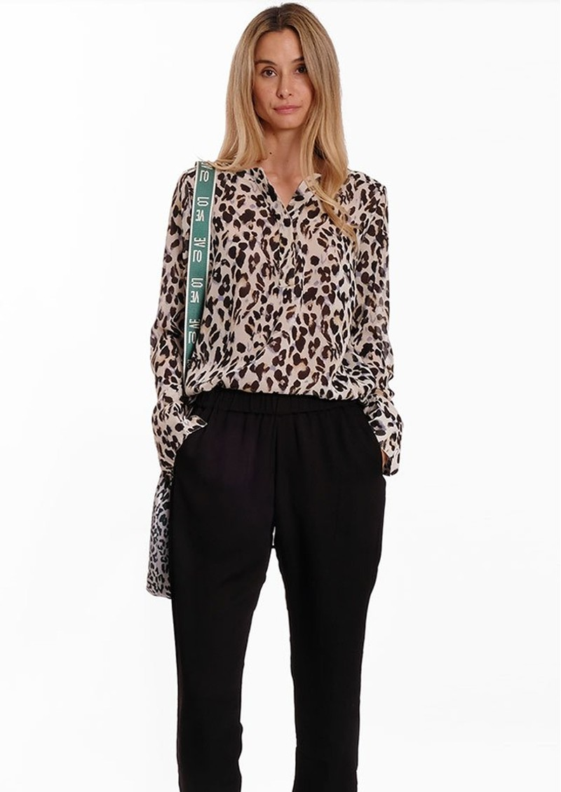 EITHER OR Pi Blouse - Leopard main image