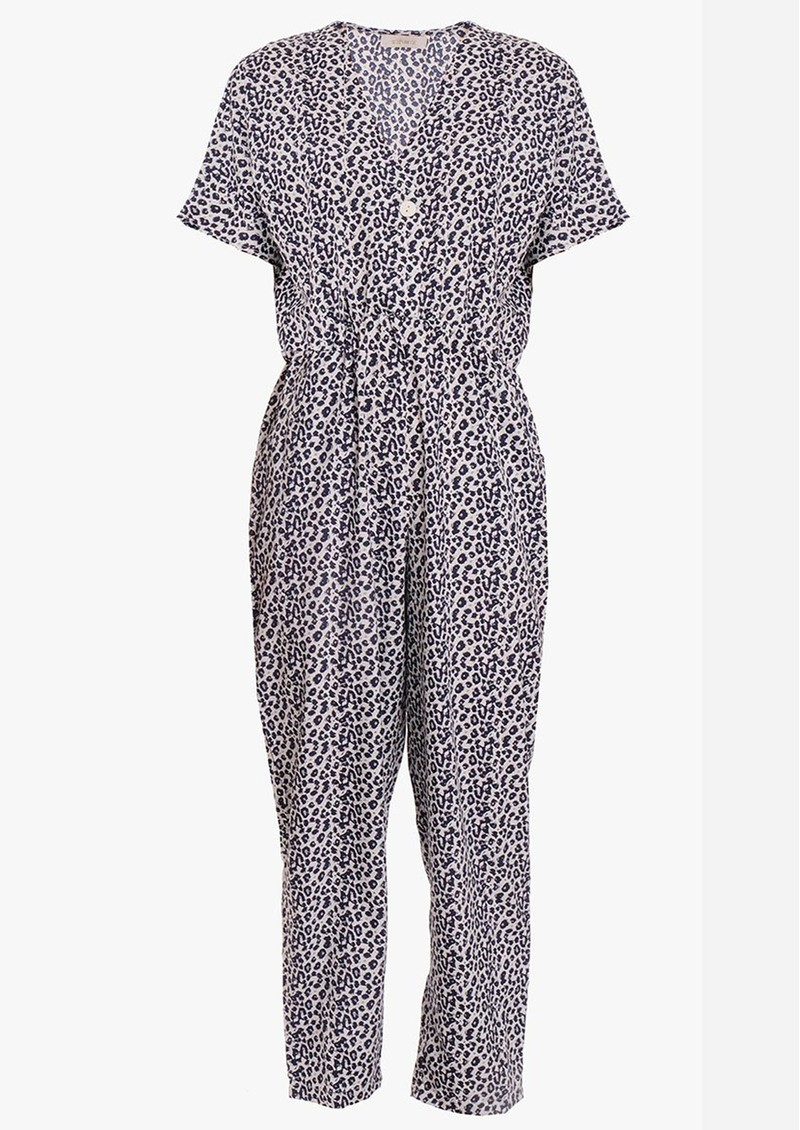 EITHER OR Ashley Printed Jumpsuit - Leopard main image