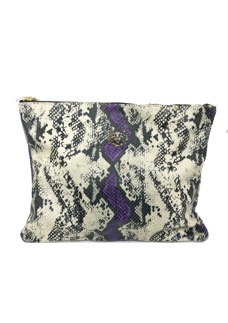 Sous Les Paves Sunrise Clutch - Python  main image