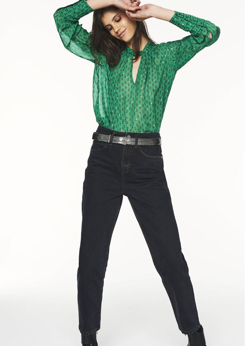 Ba&sh Cabri Blouse - Green  main image