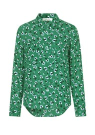 SAMSOE & SAMSOE Milly AOP Floral Shirt - Green Carnation
