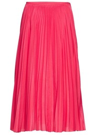 SAMSOE & SAMSOE Juliette Pleated Midi Skirt - Raspberry
