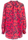Stowe Silk Blouse - Leopard Fiesta additional image