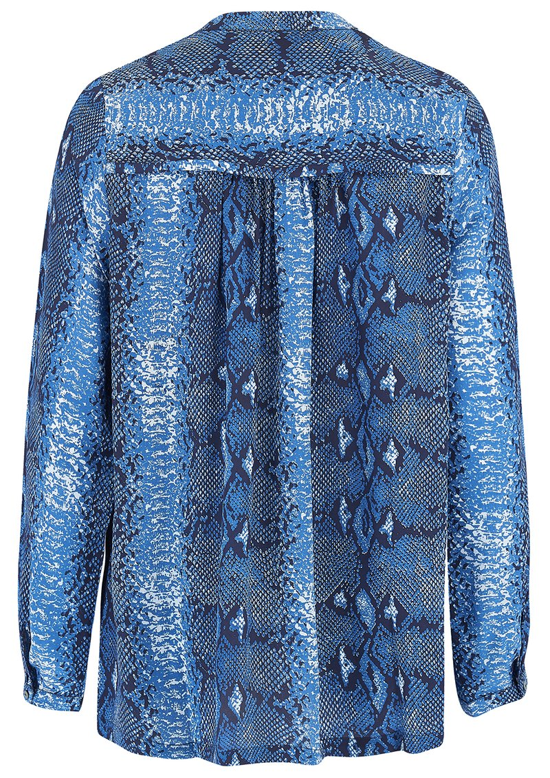Mercy Delta Avebury Silk Blouse - Python Ocean main image