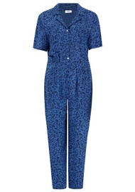 Mercy Delta Lawrence Jumpsuit - Cheetah Ocean