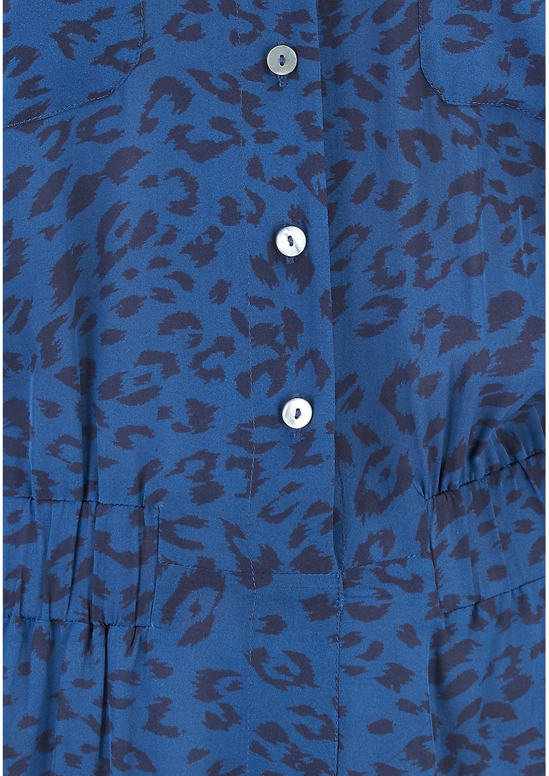 Mercy Delta Lawrence Jumpsuit - Cheetah Ocean main image