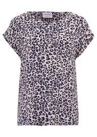 Mercy Delta Bair Silk Blouse - Jaguar Sunset
