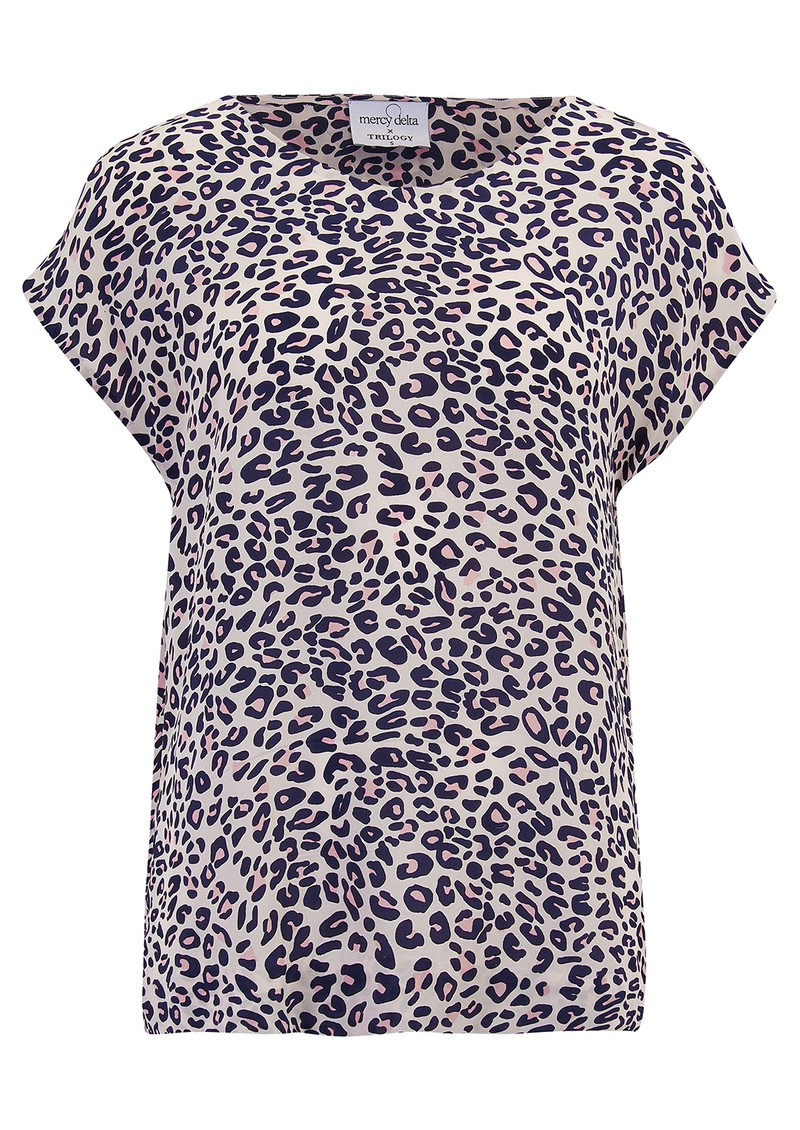Mercy Delta Bair Silk Blouse - Jaguar Sunset  main image