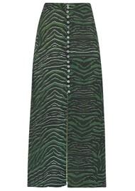 Mercy Delta Moulton Midi Skirt -  Zebra Ash