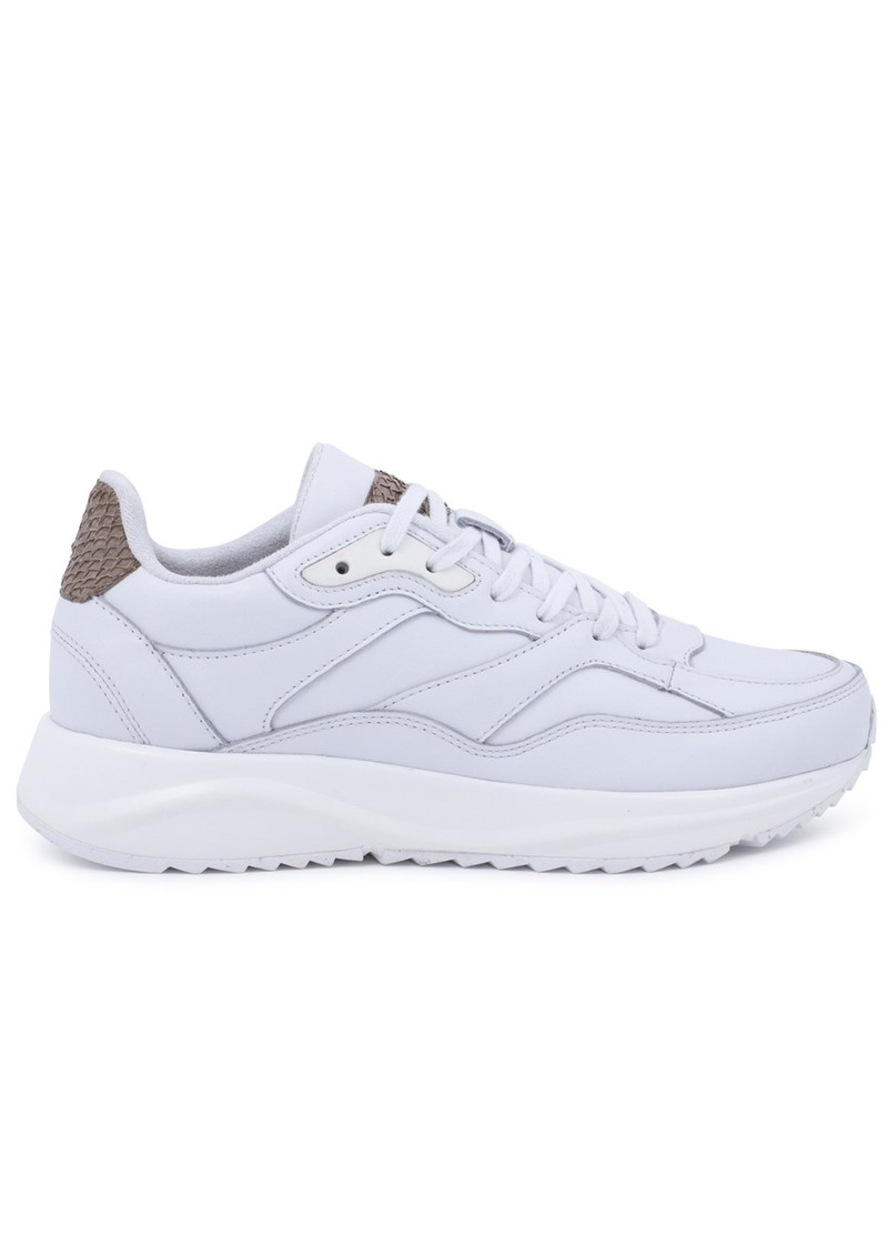 WODEN Sophie Trainers - Bright White main image