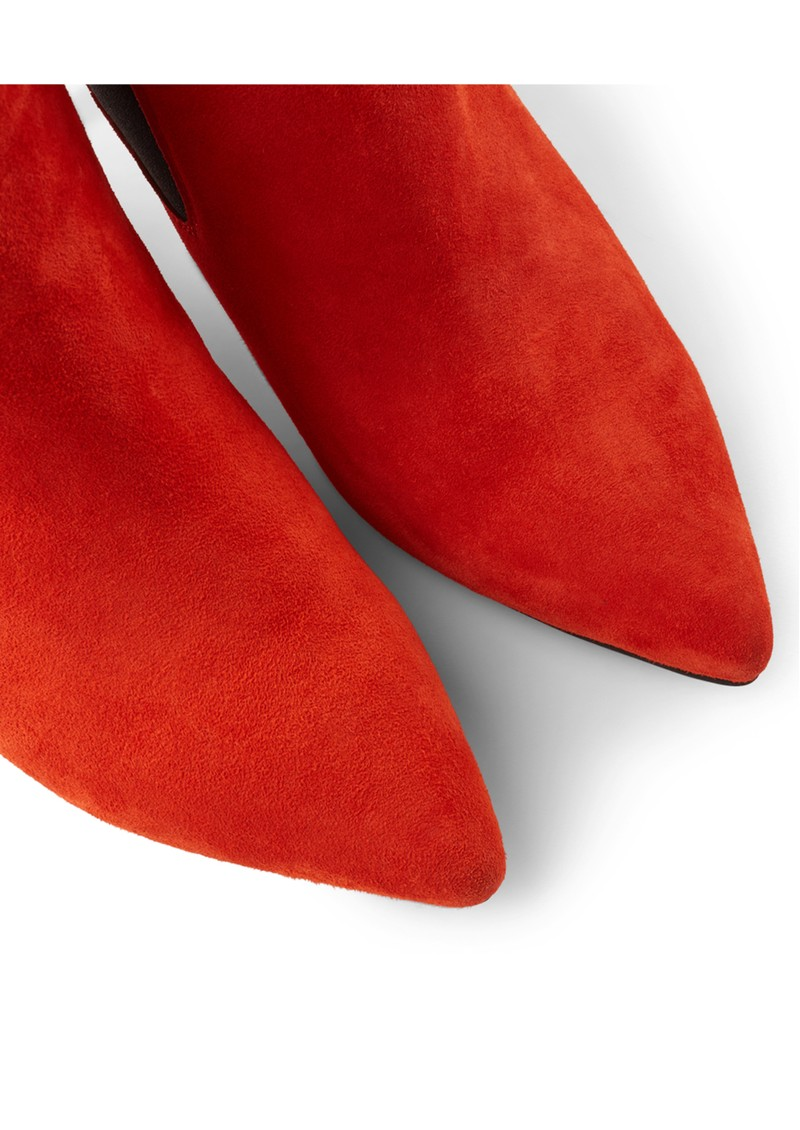 SHOE THE BEAR Agnete Suede Chelsea Boot - Red main image