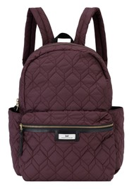 Day Birger et Mikkelsen  Day Gweneth Q Hex Backpack - Rouge Noir