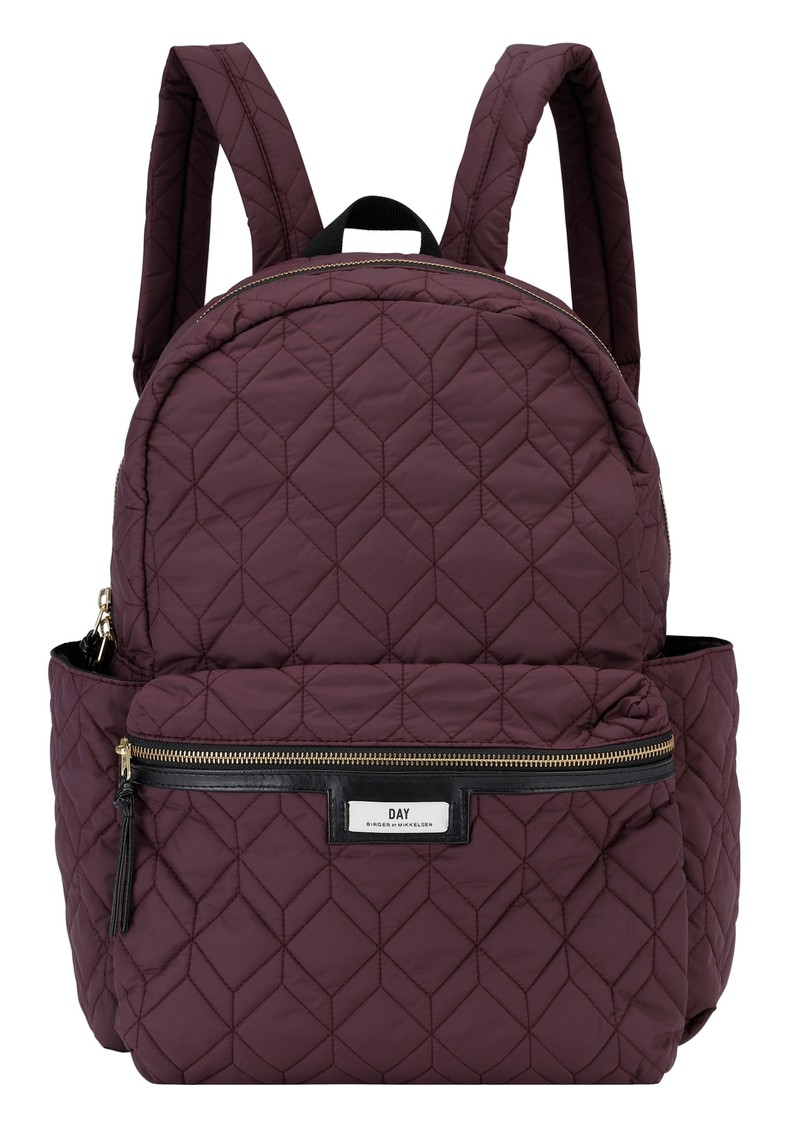 DAY ET Day Gweneth Q Hex Backpack - Rouge Noir main image