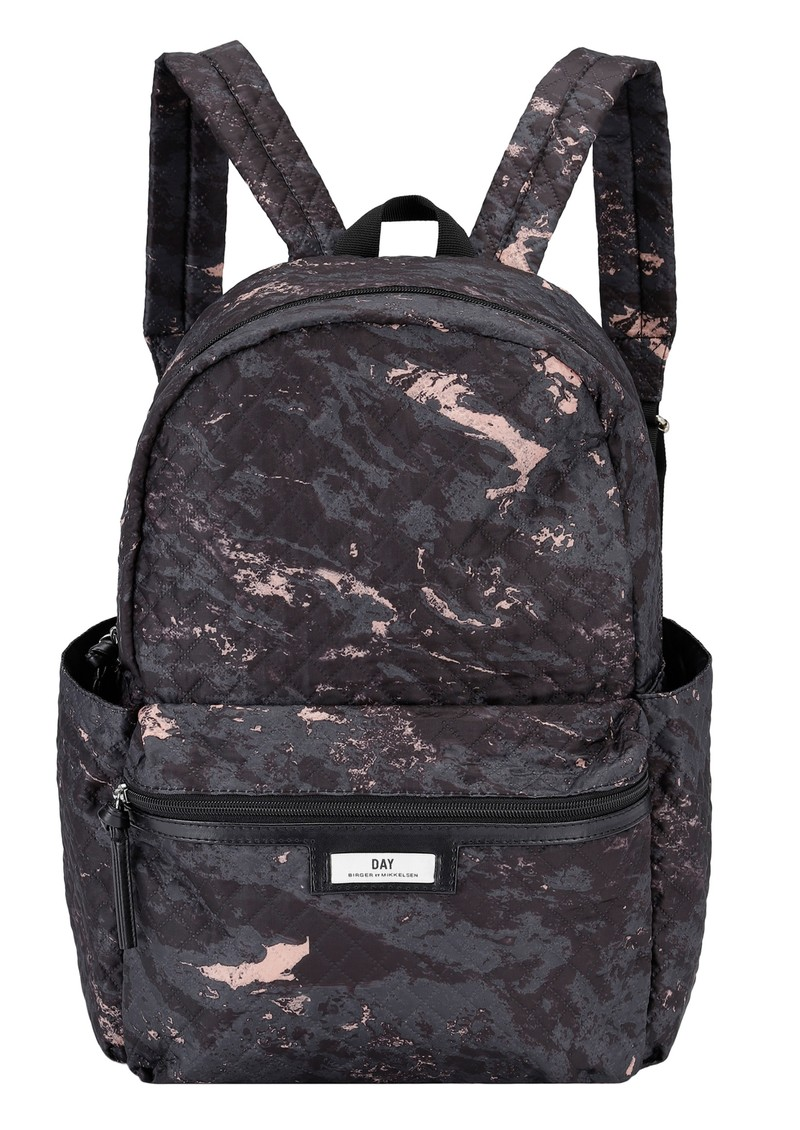 DAY ET Day Gweneth P Marble Backpack - Black main image