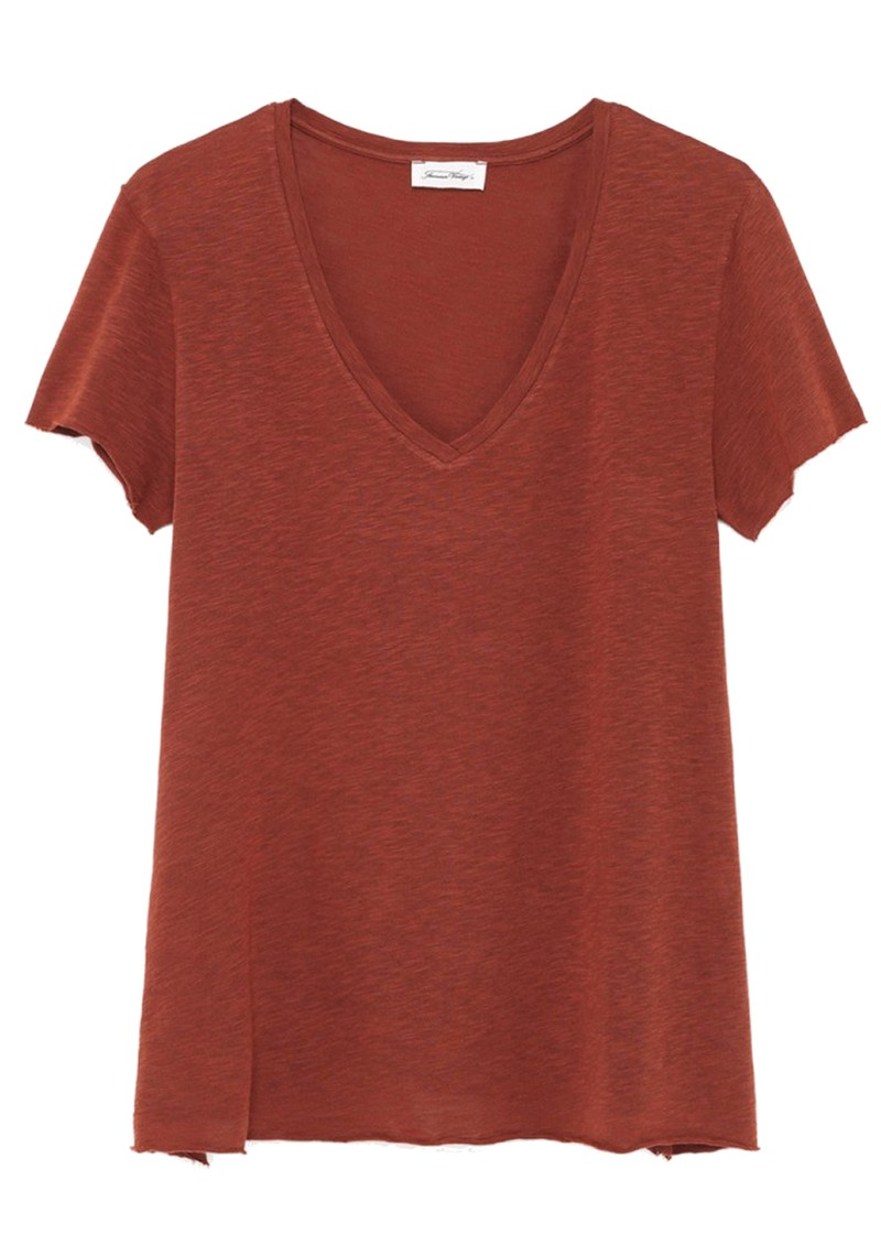 Kobibay Short Sleeve Tee - Vintage Dark Red main image