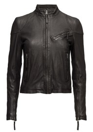 MDK Kassandra Leather Jacket - Black