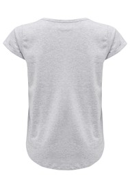 MAISON LABICHE Blondie Tee - Heather Grey