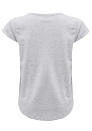 MAISON LABICHE Like Cotton Tee - Heather Grey