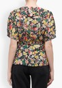 Trixie Wrap Top - Vintage Bloom additional image