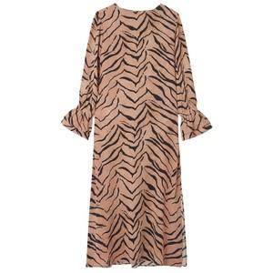 Dakota Silk Dress - Tiger Natural